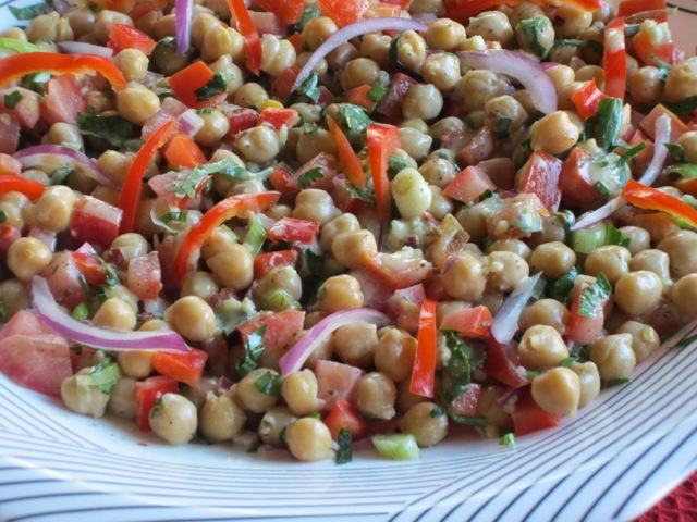 Chickpea Salad with Tahini Dressing myfavouritepastime.com_2368
