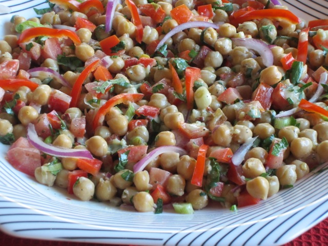 Chickpea Salad with Tahini Dressing myfavouritepastime.com_2371