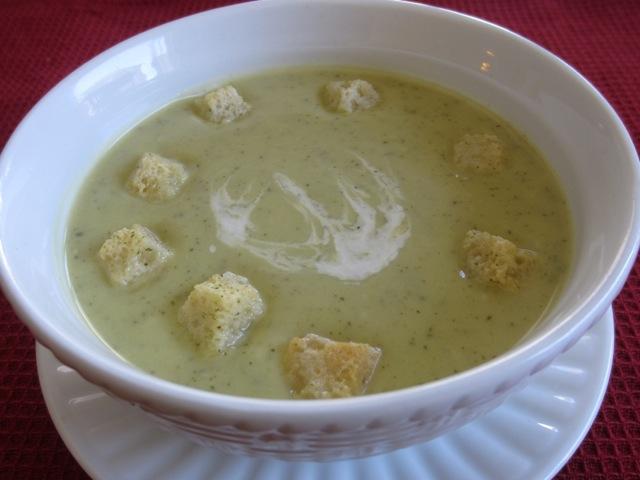Cream of Zucchini Soup myfavouritepastime.com_1750