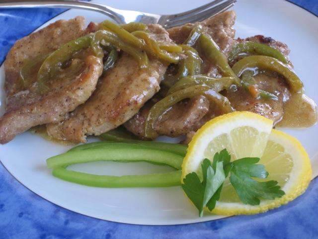 Lemon Pork with Capsicum myfavouritepastime.com_1213