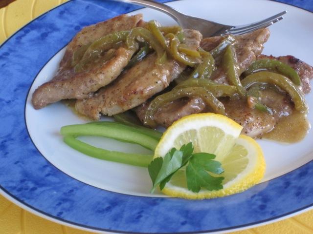 Lemon Pork with Capsicum myfavouritepastime.com_1215