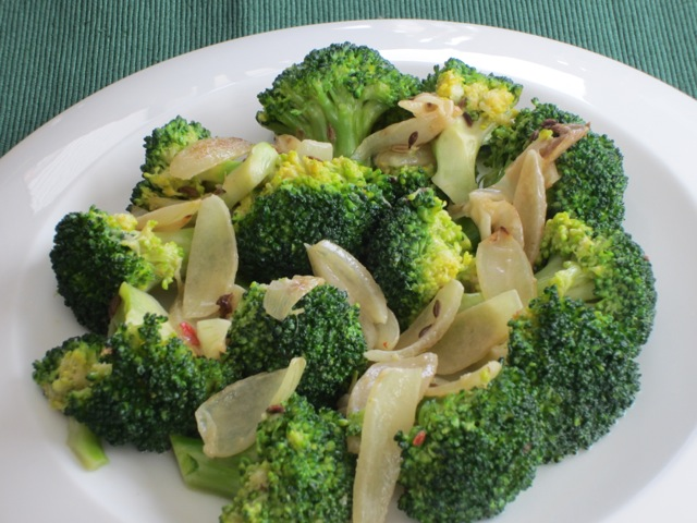 Spicy Broccoli with Fennel and Coconut Milk myfavouritepastime.com_1637