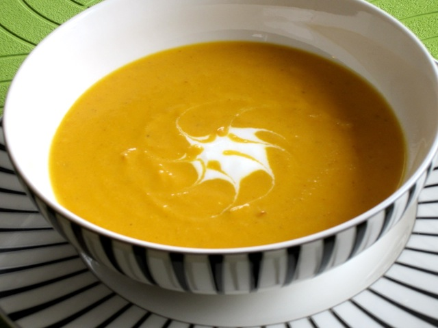 Spicy Carrot Soup with Yoghurt myfavouritepastime.com_1969