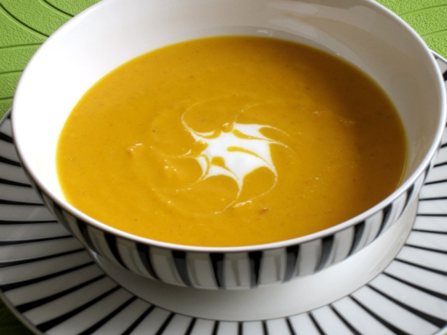 Spicy Carrot Soup with Yoghurt myfavouritepastime.com_1970