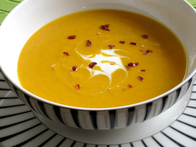Spicy Carrot Soup with Yoghurt myfavouritepastime.com_1975