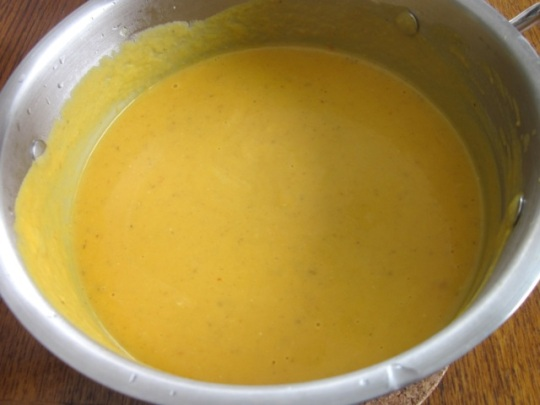 Spicy Carrot Soup with Yoghurt myfavouritepastime.com_2016
