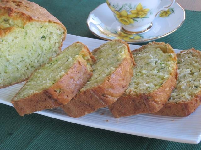 Zucchini Coconut Bread – My Favourite Pastime