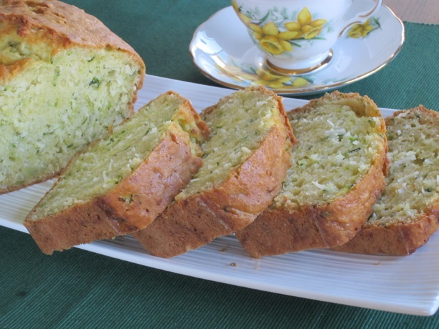 Zucchini Coconut Bread myfavouritepastime.com
