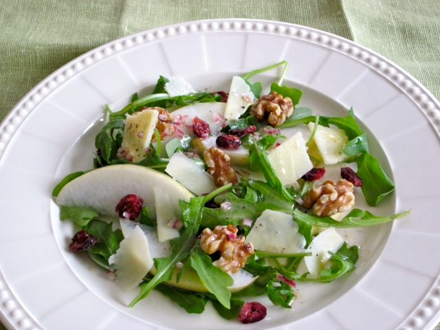 Arugula and Pear Salad myfavouritepastime.com_8701