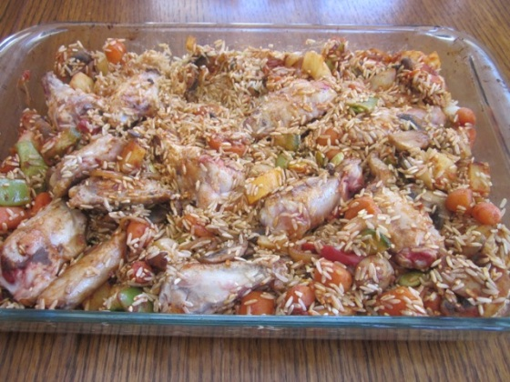 Baked Brown Rice myfavouritepastime.com_0559