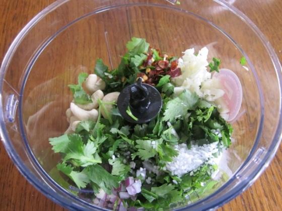 Cilantro Parsley Cashew Pesto myfavouritepastime.com_2829