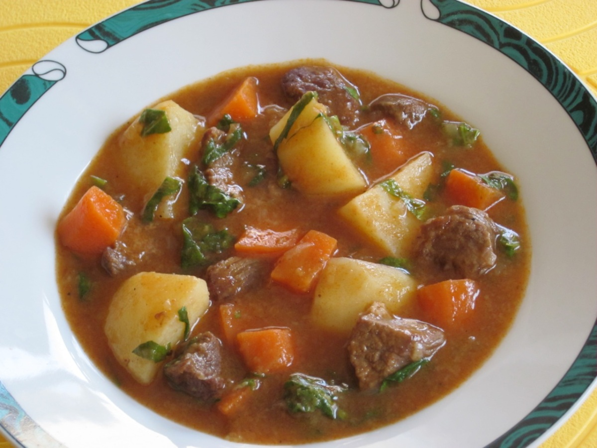Beef Stew with White Wine