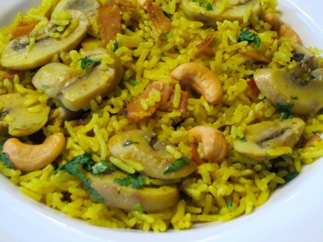 Mushroom Bacon Pilau myfavouritepastime.com_2631