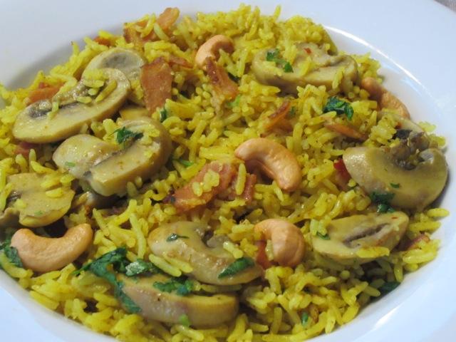 Mushroom Bacon Pilau myfavouritepastime.com_2632