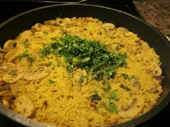 Mushroom Bacon Pilau myfavouritepastime.com_3573