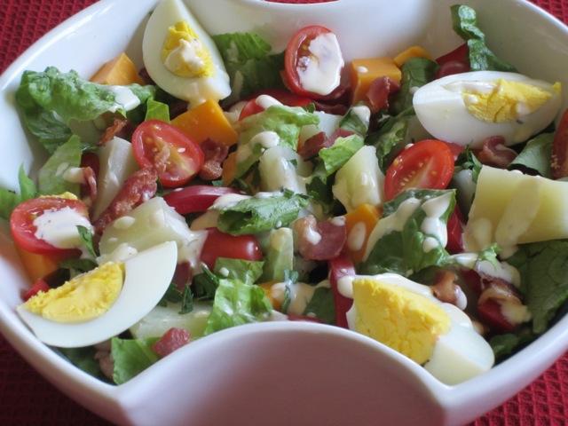 Potato Egg and Cheddar Salad myfavouritepastime.com_2412