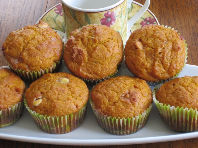 Spicy Pumpkin and Chocolate Chip Muffins myfavouritepastime.com_2303