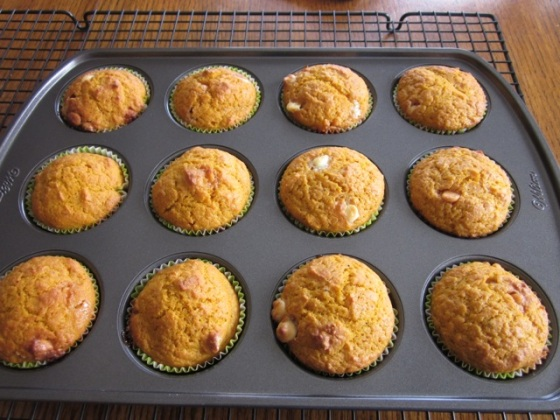 Spicy Pumpkin and Chocolate Chip Muffins myfavouritepastime.com_2950