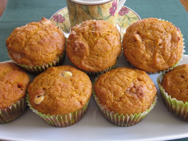 Spicy Pumpkin and Chocolate Chip Muffins myfavouritepastime.com_2981