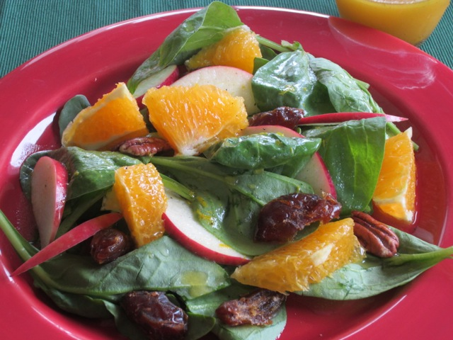 Spinach Orange and Date Salad myfavouritepastime.com_2216