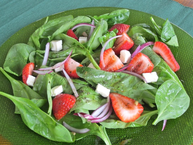 Spinach Strawberry and Feta Salad myfavouritepastime.com_2222