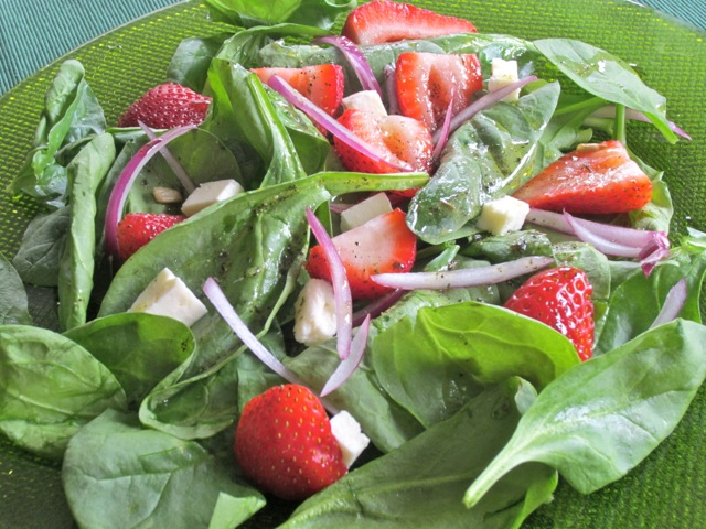 Spinach Strawberry and Feta Salad myfavouritepastime.com_2233