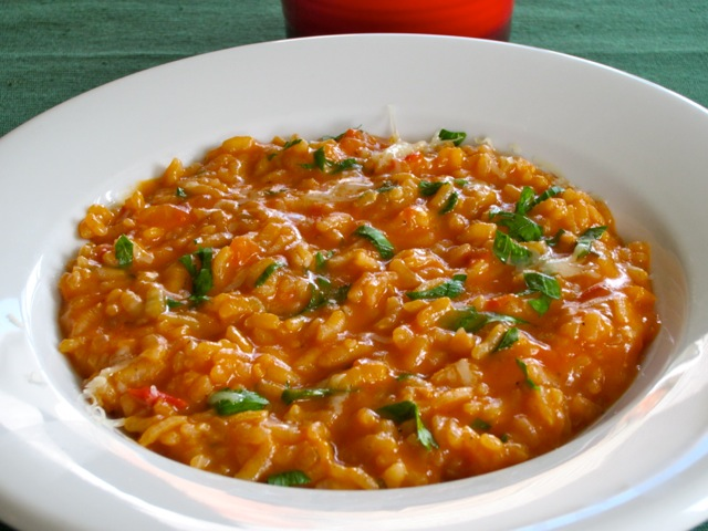Tomato and Parsley Risotto with Red Wine myfavouritepastime.com_2615