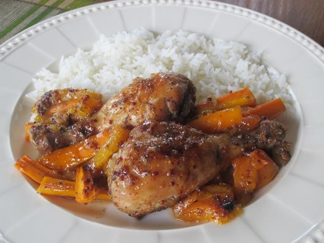 Apricot Honey Glazed Chicken myfavouritepastime.com_2755