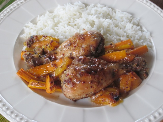 Apricot Honey Glazed Chicken myfavouritepastime.com_3789