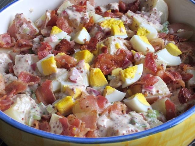 Bacon and Egg Potato Salad myfavouritepastime.com_2534