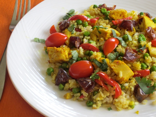 Curried Chicken and Rice Salad – My Favourite Pastime
