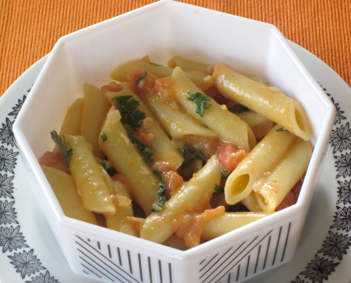 my favourite pastime food travel and eating out pasta in creamy coconut sauce