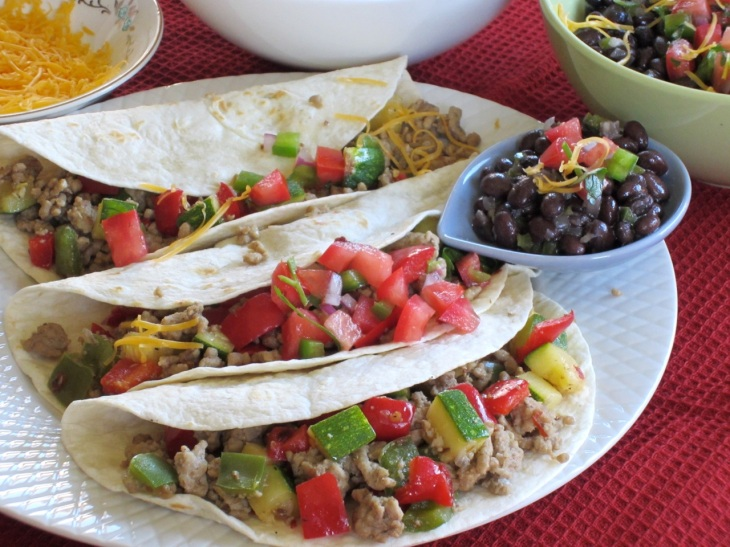 Pork Tacos with Black Beans myfavouritepastime.com