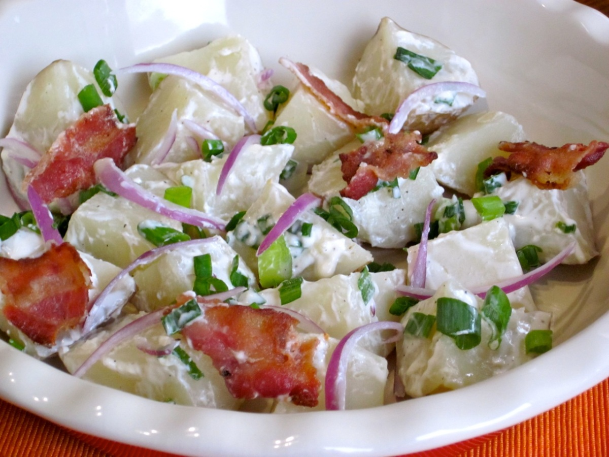 Potato Salad With Bacon My Favourite Pastime