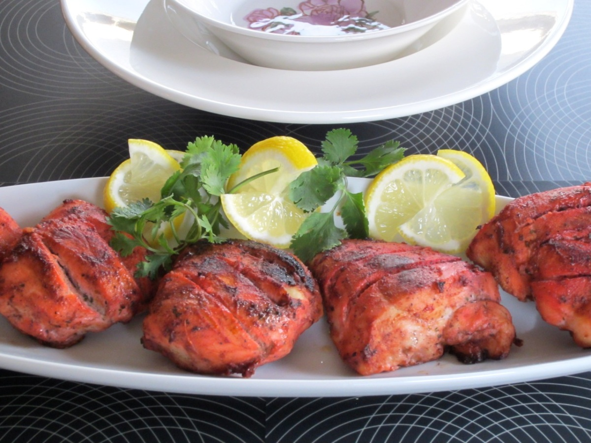 tandoori chicken my favourite pastime