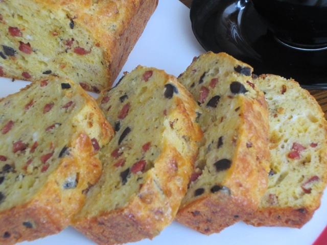 Olive Pepperoni Bread myfavouritepastime.com_1674