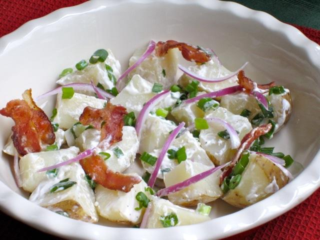 Potato Salad with Bacon myfavouritepastime.com_2395