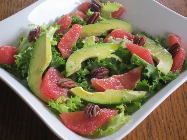 Curly Endive Avocado and Grapefruit Salad myfavouritepastime.com_3135