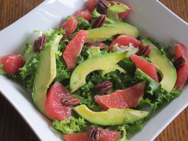 Curly Endive Avocado and Grapefruit Salad myfavouritepastime.com_3137