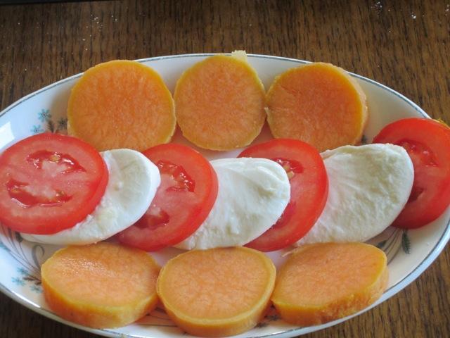 Mozzarella Tomato and Sweet Potato Salad myfavouritepastime.com_2936