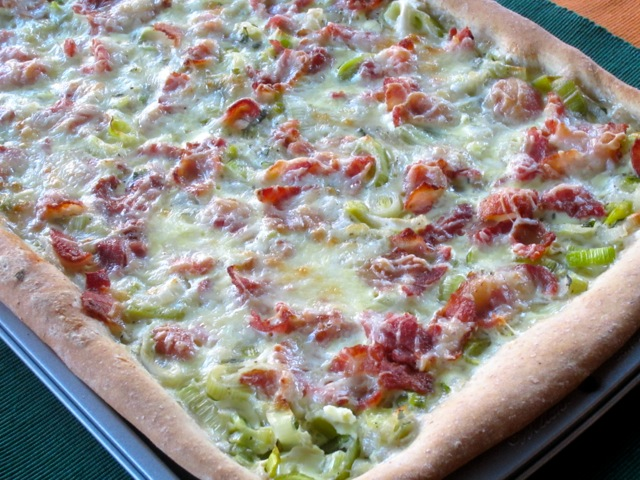 Bacon and Leek Flatbread myfavouritepastime.com_2864