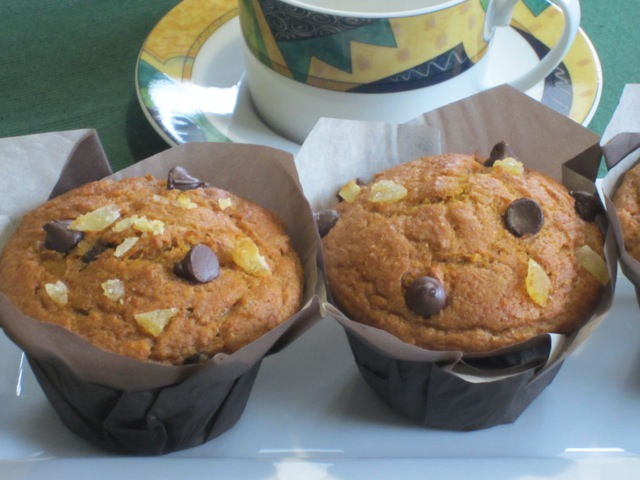 Chocolate Ginger Pumpkin Muffins myfavouritepastime.com_3403