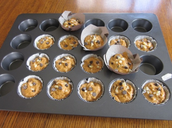 Chocolate Ginger Pumpkin Muffins myfavouritepastime.com_5377