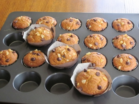 Chocolate Ginger Pumpkin Muffins myfavouritepastime.com_5379