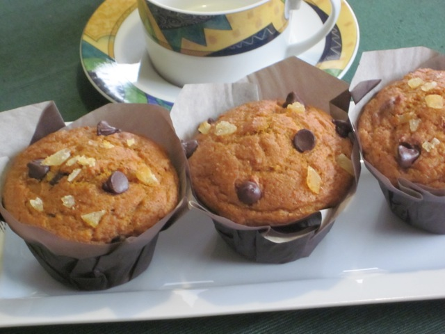 Chocolate Ginger Pumpkin Muffins myfavouritepastime.com_5389