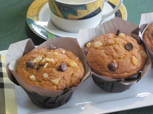 Chocolate Ginger Pumpkin Muffins myfavouritepastime.com_5391