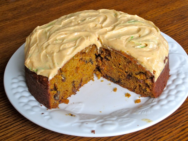 Pumpkin Carrot Cake with Sultanas and Walnuts myfavouritepastime.com_3467