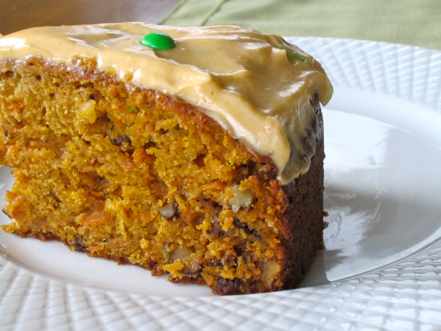 Pumpkin Carrot Cake with Sultanas and Walnuts myfavouritepastime.com_3483