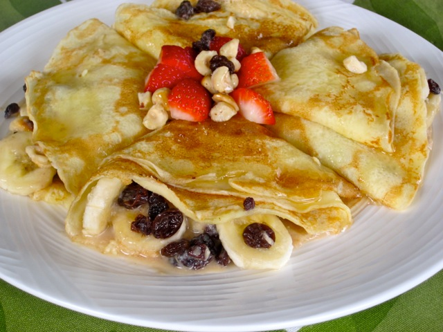 Crepes with Banana Currant & Butterscotch Sauce myfavouritepastime.com_4071
