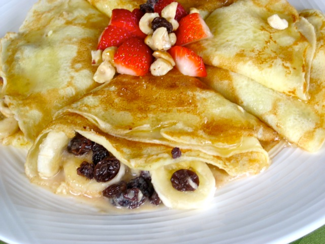 Crepes with Banana Currant & Butterscotch Sauce myfavouritepastime.com_4072
